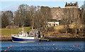 NM8834 : Calanus at Dunstaffnage by The Carlisle Kid
