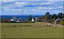 NS2005 : Old Mill Pond Site At Turnberry by Mary and Angus Hogg