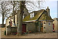 SP4211 : Stable Cottage and farmhouse, City Farm by Roger Templeman