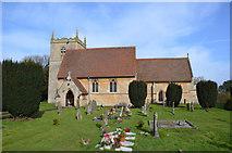 SK8354 : All Saints' church, Coddington by Julian P Guffogg
