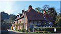 SU7886 : Cottages, Hambleden, Buckinghamshire by Oswald Bertram