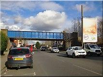 TQ2469 : The A238 Kingston Road, Wimbledon Chase by Stefan Czapski