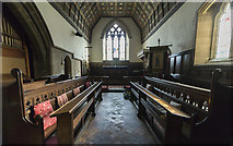 SK8354 : Chancel, All Saints' church, Coddington by J.Hannan-Briggs