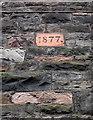 ST5873 : Date brick, Bristol by Derek Harper