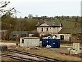 SK8803 : Manton Station building by Alan Murray-Rust