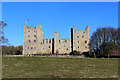 SE0391 : Bolton Castle from the South by Chris Heaton