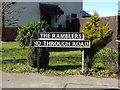 TG2503 : The Ramblers sign by Adrian Cable