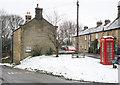 SK2471 : Grassy bank in Pilsley by Trevor Littlewood