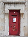 SU9777 : Windsor Castle: postbox № SL4 63, Norman Gate by Chris Downer