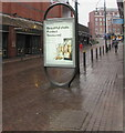 ST3088 : JCDecaux advertising display, Cambrian Road, Newport by Jaggery