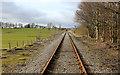 SE0790 : Wensleydale Railway near Keld Heads by Chris Heaton