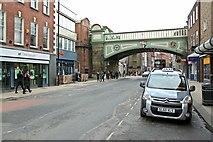 SO8455 : Foregate Street railway bridge by Alan Murray-Rust