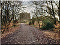 SD6213 : Approach to Rivington Castle by David Dixon
