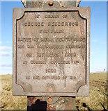 SD6614 : Plaque on Scotchman's Stump by Adam C Snape