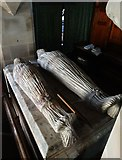 SK1750 : The Beresford Tomb, Fenny Bentley by Neil Theasby
