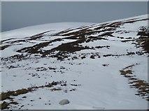 NN6175 : North side, Coire Dhomhain by Richard Webb