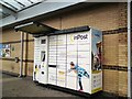 SJ9594 : InPost collection point at Morrisons, Hyde by Gerald England