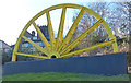 SK4346 : Winding wheel on Church Street in Heanor by Mat Fascione