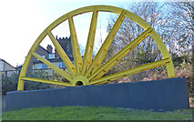 SK4346 : Winding wheel on Church Street in Heanor by Mat Fascione