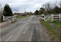SO8700 : Cattle grid across Woefuldane Bottom, Minchinhampton  by Jaggery