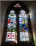 SK1750 : Memorial window in Fenny Bentley parish church by Neil Theasby
