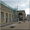TL4657 : Cambridge Station changing by John Sutton