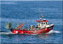 NM8529 : Iona in Oban Bay by The Carlisle Kid