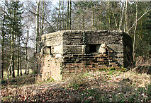TG1407 : Type F22 pillbox near Bawburgh by Evelyn Simak