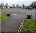 ST3091 : Malpas Park Primary School playground, Newport by Jaggery