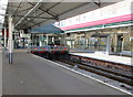 SS6593 : Buffers at the end of the line, Swansea railway station by Jaggery