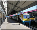 SS6593 : Walking towards the Manchester Piccadilly train, Swansea station by Jaggery