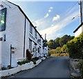 SH7669 : Ye Olde Bull Inn, Llanbedr-y-cennin by Gerald England