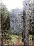 J3630 : Water tunnel air shaft tower just below the summit of Drinnahilly by Eric Jones
