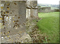 ST6762 : On the north west angle of the tower by Neil Owen