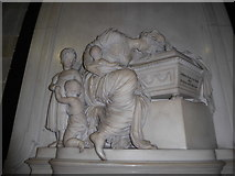 SO8554 : Worcester Cathedral: memorial (18) by Basher Eyre