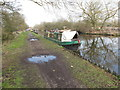 TQ0588 : Murphy's Law or Rhiannon, narrowboat near Harefield by David Hawgood