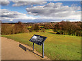 SD8304 : Looking North from the Temple at Heaton Park by David Dixon