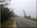 TL0227 : Misty morning on B579 by Robin Webster