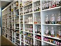 SJ9594 : Jars full of sweets by Gerald England
