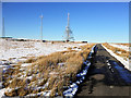 SD6614 : Communications Masts on Winter Hill by David Dixon