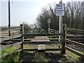 TA1665 : Beware of trains, south of Bessingby by Christine Johnstone