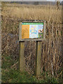 TM4566 : Minsmere sign off Eastbridge Lane by Adrian Cable