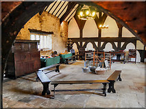 SD6911 : The Great Hall, Smithills Hall, Bolton by David Dixon
