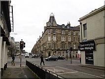 NT2674 : Brunswick Road - Leith Walk junction by Richard Webb