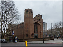 TQ3379 : Holy Trinity Church, Dockhead, London SE1 by Christine Matthews