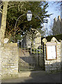 ST6665 : Entrance to St Michael's church by Neil Owen