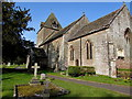 SO4831 : South side of the Parish Church of St David, Much Dewchurch by Jaggery