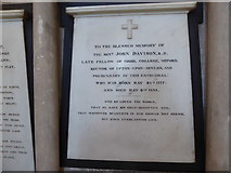 SO8554 : Worcester Cathedral: memorial (84) by Basher Eyre