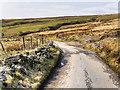 SD6613 : Smithills Moor, Coal Pit Road by David Dixon