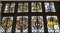 ST4917 : Stained glass, Montacute House by Derek Harper